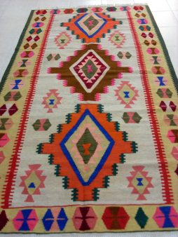 Kaukasische Shahsevan Kelim 271 x 144