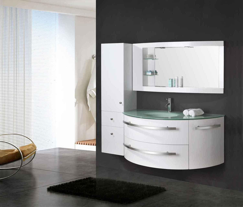 Mobile bagno arredo 120 cm Colonna e lavabo incluso