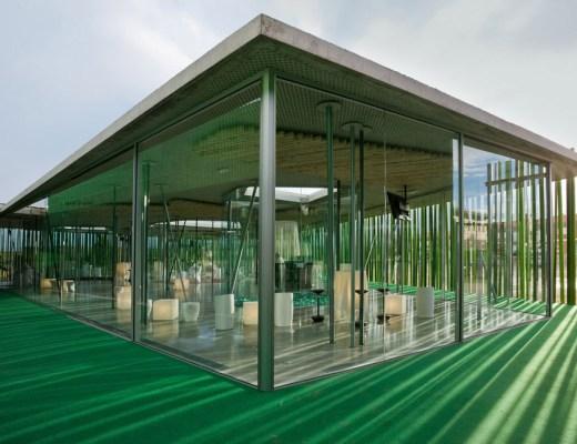 Ex ducati mario cucinella architects italia for Fachadas de restaurantes modernos