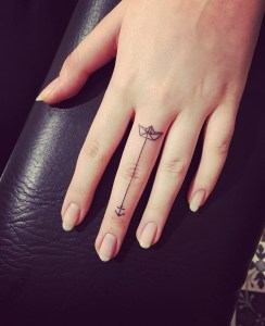 fb4339da9 Boat And Anchor Finger Tattoo Tattoo Designs Ideas And Meanings