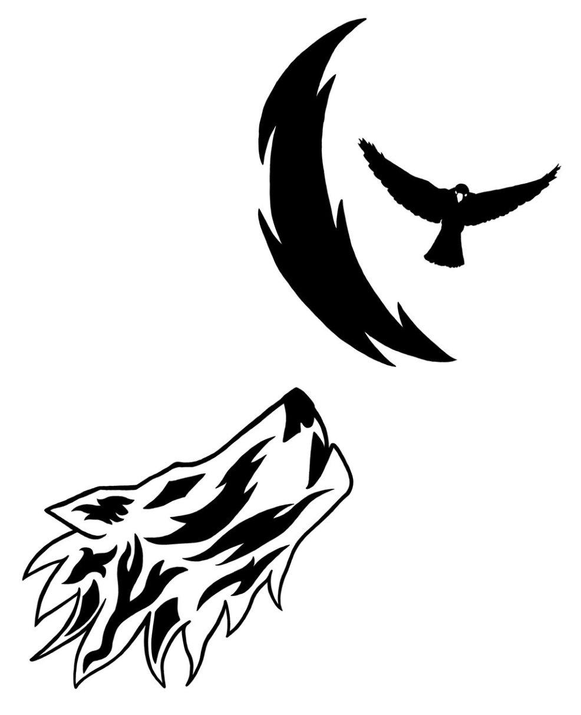 Free Tribal Crow Tattoo Designs Download Free Clip Art Free Clip