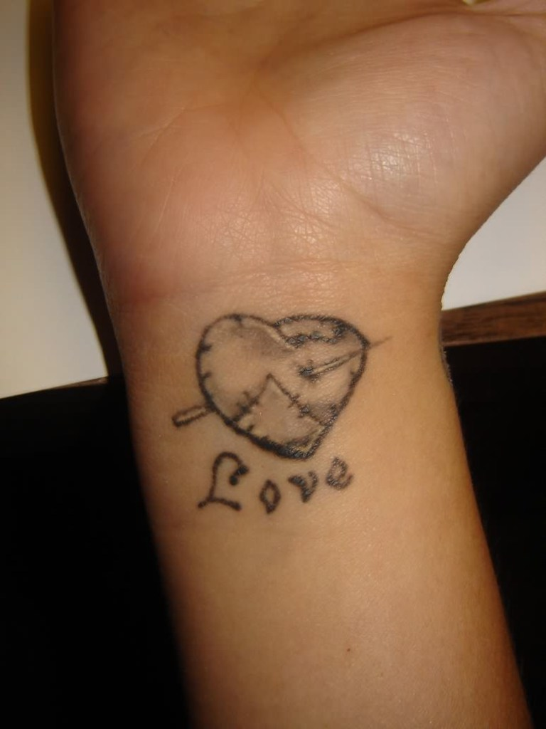 Heart Tattoos For Wrists For Younger Girls Tattoomagz Best