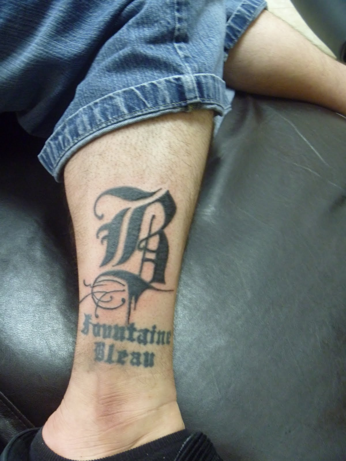 Letter R Tattoo Designs For Men