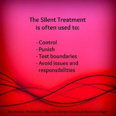 silent treatment 2