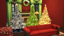 Sims 4 Christmas Tree Variations