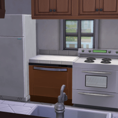 Kitchen Dishwashers Little Helper Stool Splash Into The Sims 4 In Latest Patch Simcitizens Dishwasher