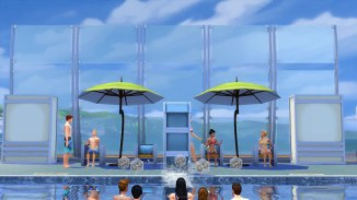 Sims 4 Public Pool