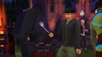 Sims 4 Ruins BBQ