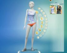 Sims 4 Restaurant Uniform (2)