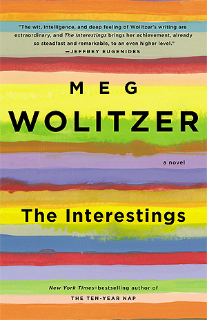"Cover of the novel ""The Interestings"" by Meg Wolitzer"