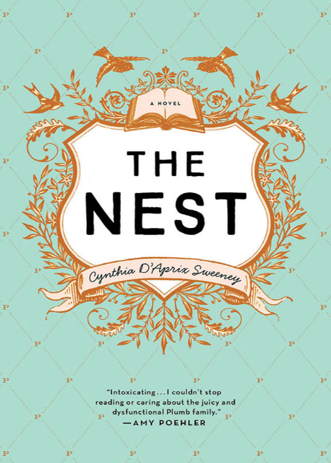 "Cover of the novel ""The Nest"" by Cynthia D'Apprix Sweeney"