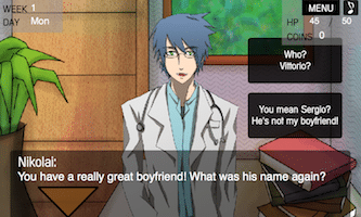Tell us a bit about yourself dating sim