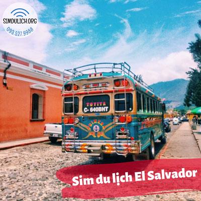 Sim du lịch El Salvador