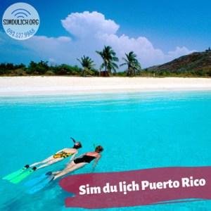 Sim du lịch Puerto Rico