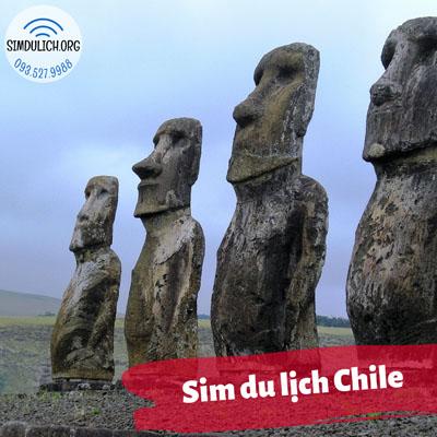 Sim du lịch Chile