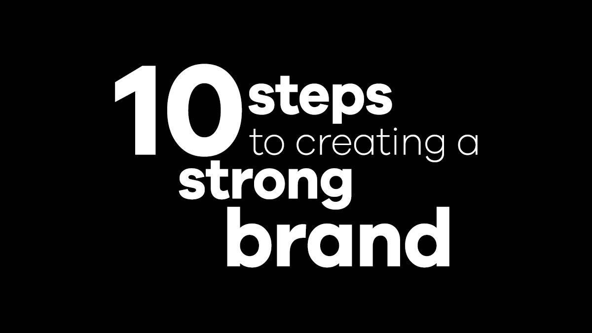 Creating a strong brand