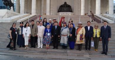 Мэр Улан-Батора Сундуйн Батболд встретился с участниками фестиваля «Мөнх Тэнгэр»