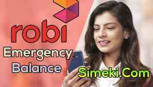 robi emergency balance