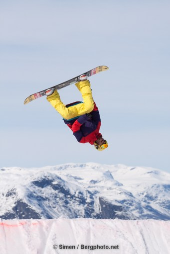 Terrain park in Hemsedal. Photo: Simen Berg