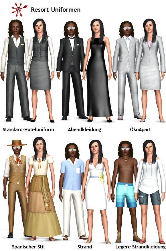 Sims 3 Resort Managen – Personal Einstellen Und Einkleiden