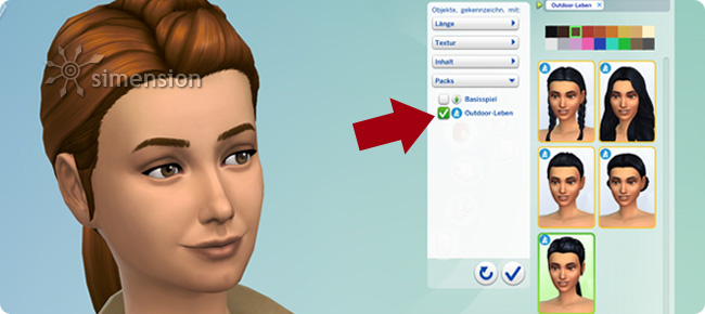 City Living Hats Change Hair Color And Style — The Sims Forums