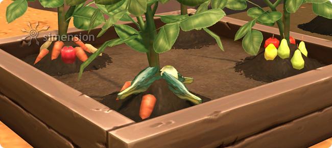 Sims 4 Fhigkeit Gartenarbeit  simension