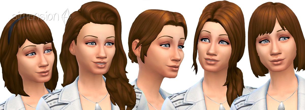 Neue Frisuren Sims 4 – Trendige Frisuren 2017 Foto Blog
