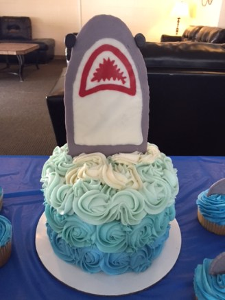 Shark Cake - (Sim)fully Sweet