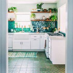 Kitchen Backsplashes Sinks Houzz 厨房后挡板高清大图 大作灵感 青色瓷砖厨房后挡板