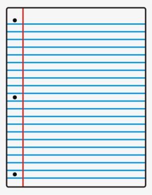 Lined Paper Transparent : lined, paper, transparent, Loose, Lined, Paper, Notebook, Clipart, Transparent, 680x832, Download, NicePNG