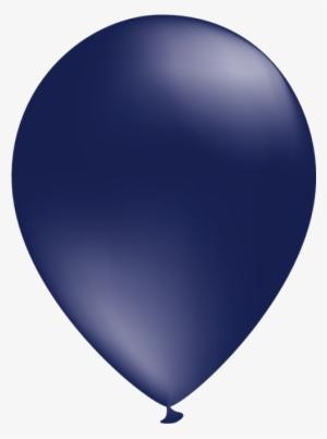 navy clipart balloon - dark blue