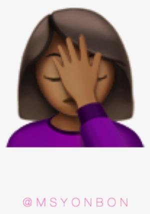 Emoji Girl With Hand Up : emoji, Black, Emoji, Transparent, 640x640, Download, NicePNG