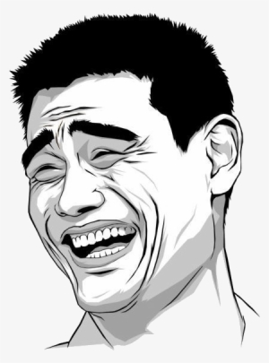 Funny Laughing Face Meme : funny, laughing, Vector, Laughing, Transparent, 432x575, Download, NicePNG