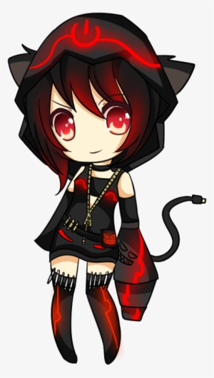 Chibi Anime Cat Girl : chibi, anime, Drawn, Badass, Anime, Chibi, Transparent, 449x745, Download, NicePNG