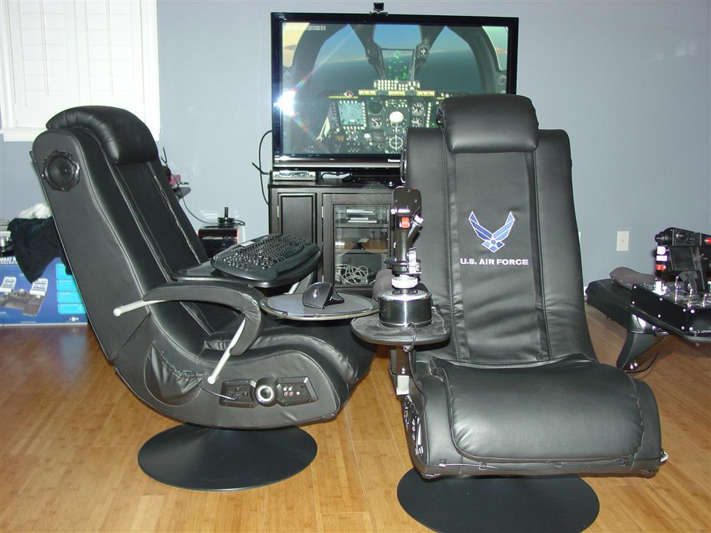 flight simulator chair 360 foldable aluminum sports please show off your pit sim builders