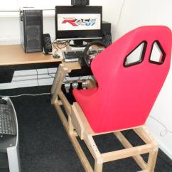 Racing Seat Office Chair Diy Ski Adirondack Picture Of Your Setup? - Simhq Forums