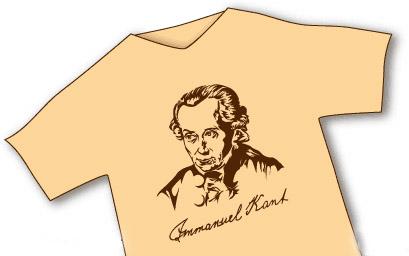immanuelle kant, the t-shirt