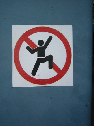 no disco dancing - photo by jeremy clarke