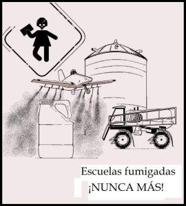 Escuelas fumigadas en Argentina: Un modelo venenoso