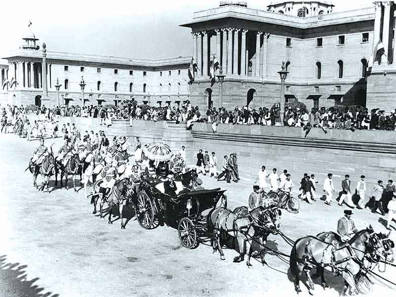 Rajendra_Prasad_readies_to_take_part_in_the_first_Republic_Day_parade