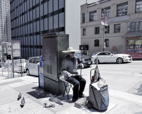 Street Performer (SF- China town)