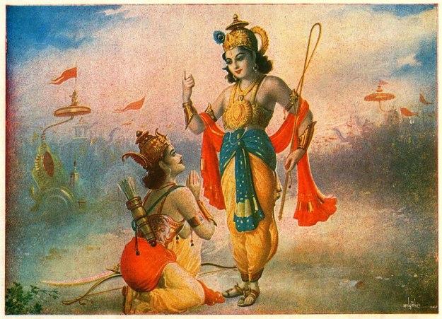 -Krishna_tells_Gota_to_Arjuna