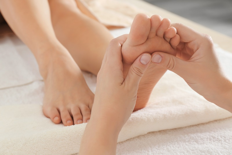 Contre-indications massage classique pieds