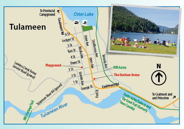 Map  Find your way to the Similkameen Valley