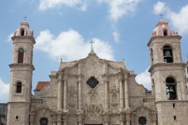 La Havane - cathédrale