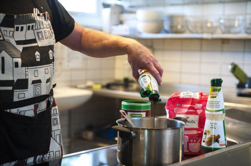 Matlagning på Simlångsgården