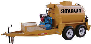 Simlawn only uses the best seal coat equipment in the industry!