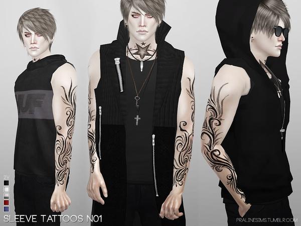 Asì se verìa el tatuaje en el cuerpo de un hombre.