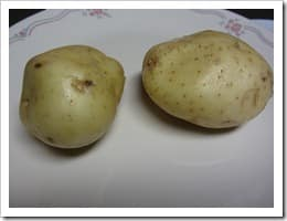 2 medium potatoes