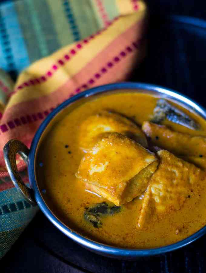 Mangalorean Fish curry (Meen Gassi)